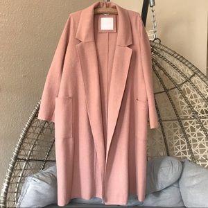 Jackets & Blazers - 💋SOSKEN - Bella Brushed Knit Duster Coat